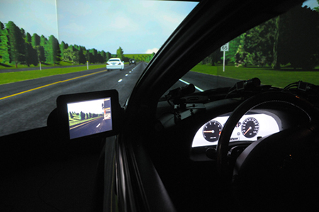 The driving environment simulator (DES)